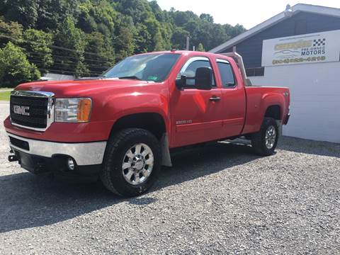 2011 GMC Sierra 2500HD for sale in Morgantown, WV