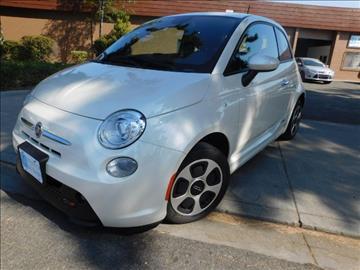 2014 FIAT 500e for sale in Fremont, CA