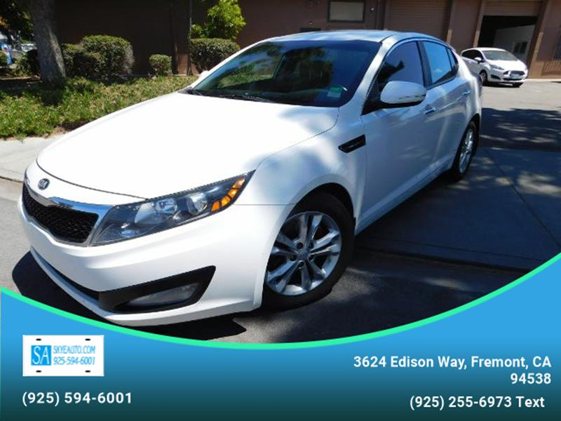 2013 Kia Optima EX 4dr Sedan   Fremont CA