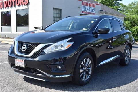2016 Nissan Murano for sale in Richmond, VA