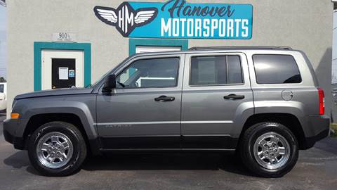 2012 Jeep Patriot for sale in Hanover, PA