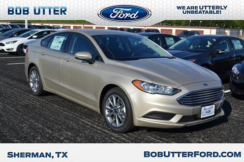 2017 Ford Fusion for sale in Sherman, TX