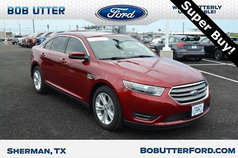 2016 Ford Taurus for sale in Sherman, TX