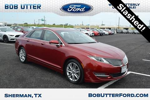 2013 Lincoln MKZ for sale in Sherman, TX