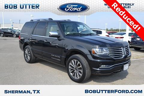 2015 Lincoln Navigator for sale in Sherman, TX