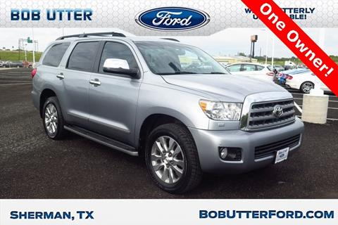 2013 Toyota Sequoia for sale in Sherman, TX