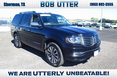 2017 Lincoln Navigator for sale in Sherman, TX
