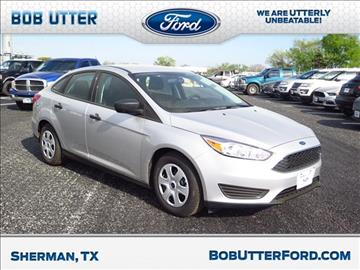 2017 Ford Focus for sale in Sherman, TX