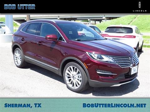 2017 Lincoln MKC for sale in Sherman, TX