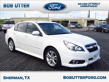 2013 Subaru Legacy for sale in Sherman, TX