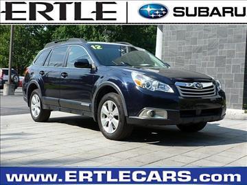 2012 Subaru Outback for sale in Stroudsburg, PA