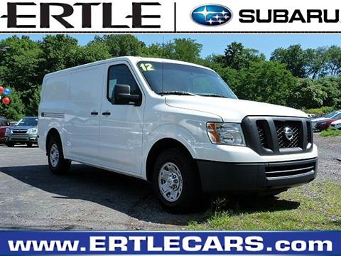 2012 Nissan NV Cargo for sale in Stroudsburg, PA