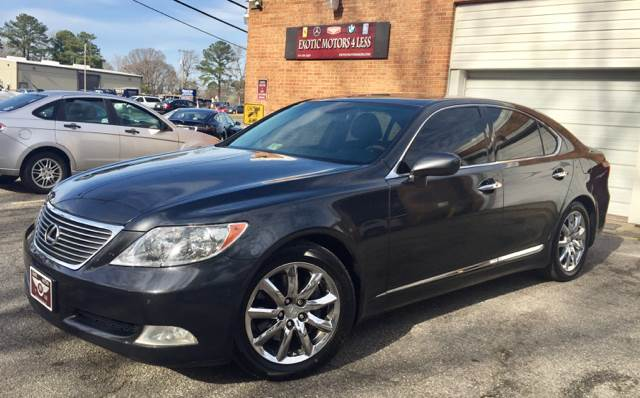 2007 Lexus LS 460 for sale at Exotic Motors 4 Less in Chesapeake VA