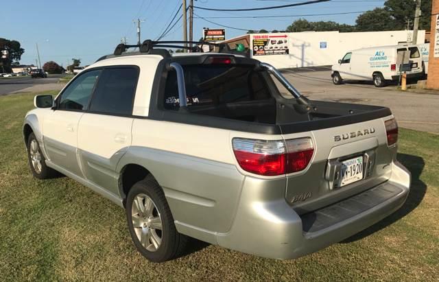 2005 Subaru Baja AWD 4dr Turbo Crew Cab SB - Chesapeake VA