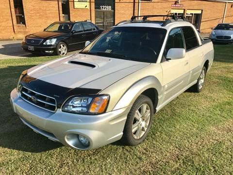2005 Subaru Baja for sale at Exotic Motors 4 Less in Chesapeake VA