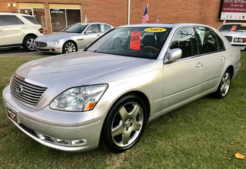 2005 Lexus LS 430 for sale at Exotic Motors 4 Less in Chesapeake VA