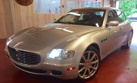 2008 Maserati Quattroporte for sale at Exotic Motors 4 Less in Chesapeake VA