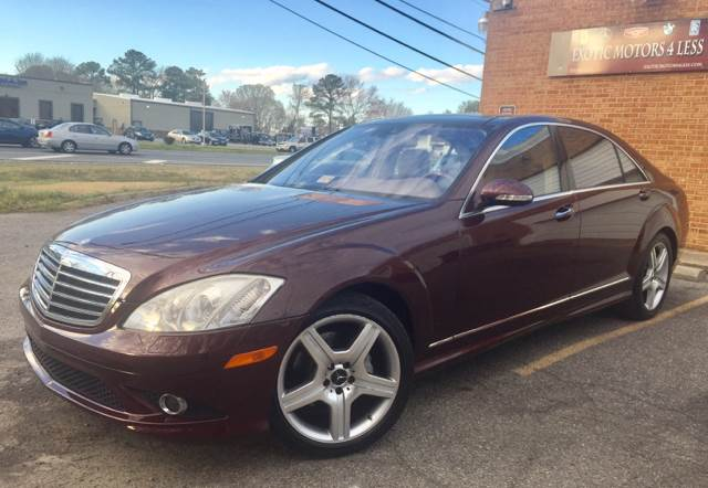 2007 Mercedes-Benz S-Class for sale at Exotic Motors 4 Less in Chesapeake VA