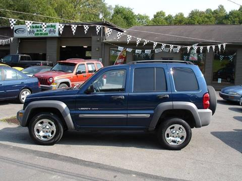 2002 Jeep Liberty for sale in Moscow, PA