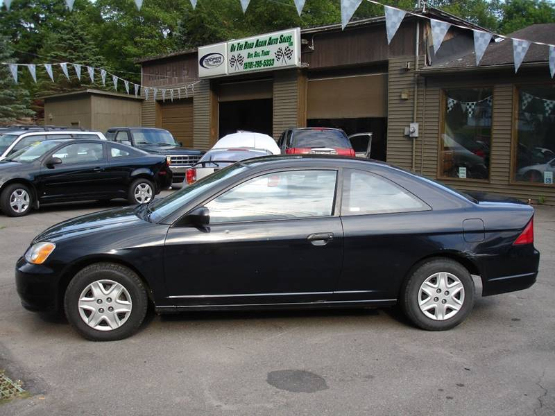 2003 Honda Civic For Sale At On The Road Again Auto Sales In Moscow PA