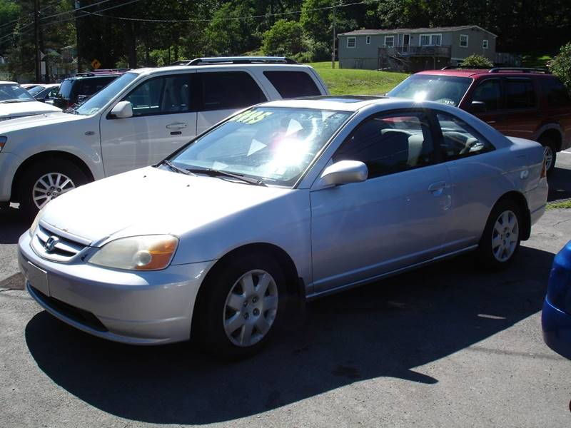 2001 Honda Civic For Sale At On The Road Again Auto Sales In Moscow PA