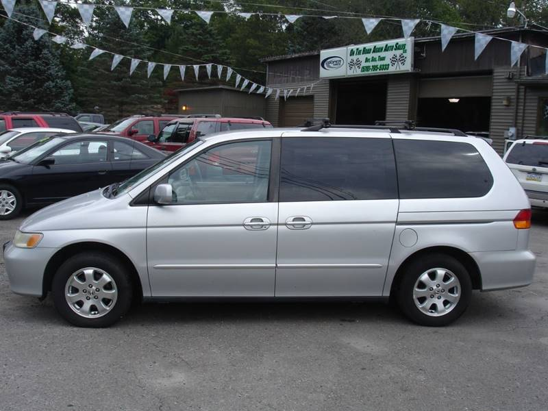 Amazing 2002 Honda Odyssey For Sale At On The Road Again Auto Sales In Moscow PA