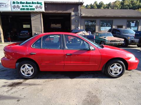 2002 Chevrolet Cavalier for sale in Lake Ariel, PA