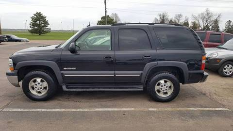2003 Chevrolet Tahoe for sale at Dakota Cars and Credit in Sioux Falls SD