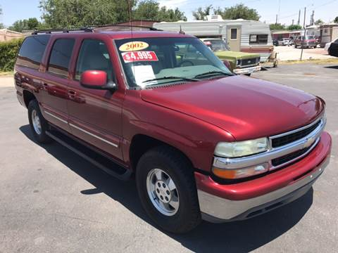 2002 Chevrolet Suburban for sale in El Paso, TX