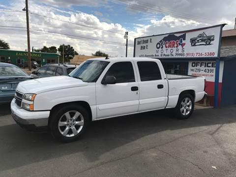 2006 Chevrolet Silverado 1500 for sale at Os'Cars Motors in El Paso TX
