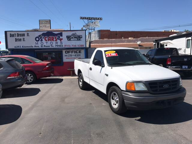 2004 ford f-150 heritage xl in el paso tx - os'cars motors