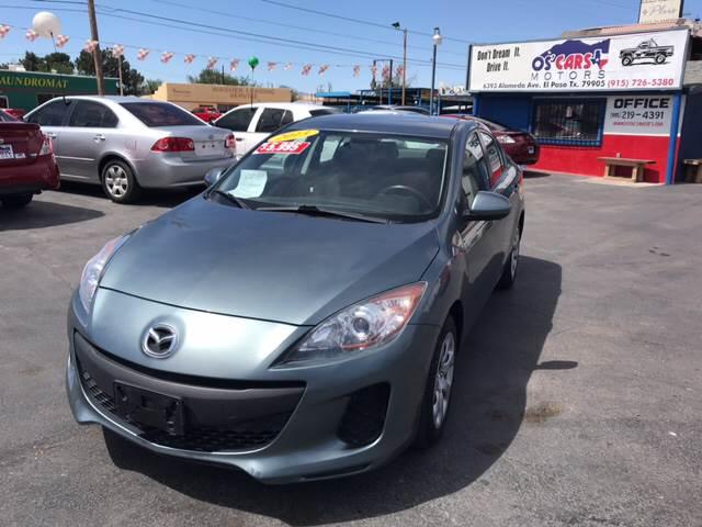 2013 Mazda MAZDA3 For Sale At Osu0027Cars Motors In El Paso TX