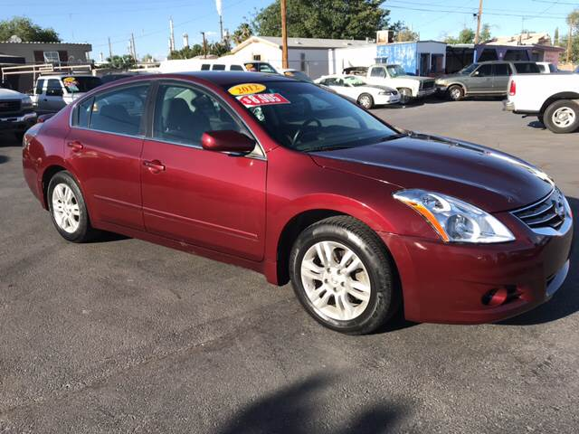 2012 Nissan Altima For Sale At Osu0027Cars Motors In El Paso TX