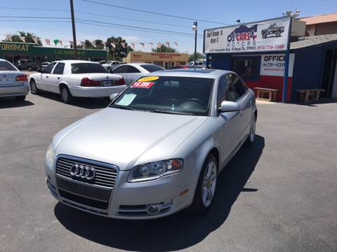 2007 Audi A4 for sale at Os'Cars Motors in El Paso TX