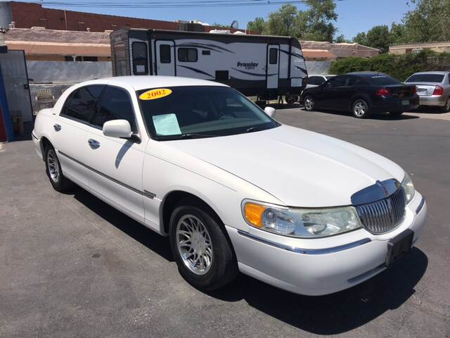 2002 Lincoln Town Car Signature In El Paso Tx Os Cars Motors