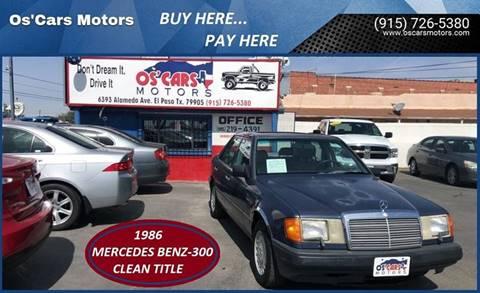1986 Mercedes-Benz 300-Class for sale in El Paso, TX