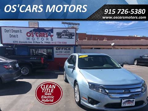 2010 Ford Fusion Hybrid for sale in El Paso, TX
