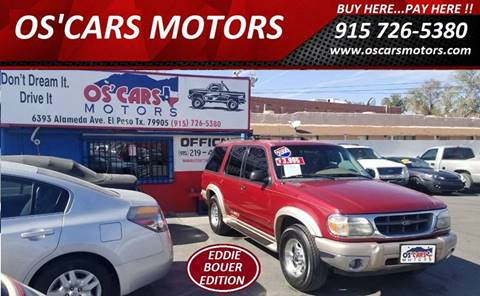 2000 Ford Explorer for sale in El Paso, TX