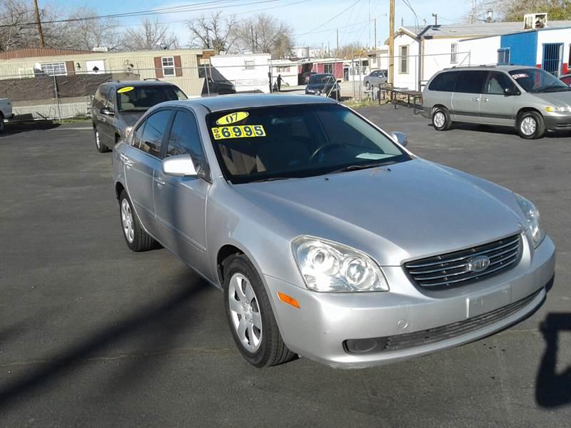 2007 Kia Optima For Sale At Osu0027Cars Motors In El Paso TX