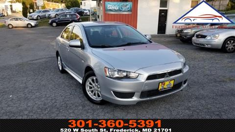 2011 Mitsubishi Lancer for sale in Frederick, MD