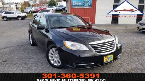 2011 Chrysler 200 for sale in Frederick, MD