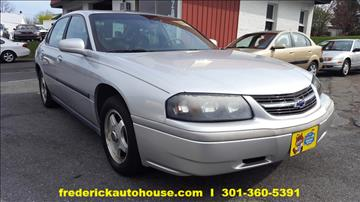 2003 Chevrolet Impala for sale in Frederick, MD