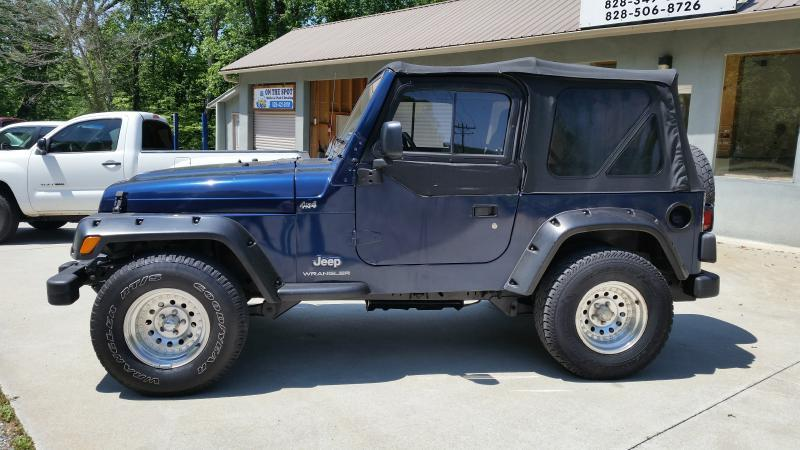 2003 Jeep Wrangler for sale at McCall's Auto Sales in Franklin NC
