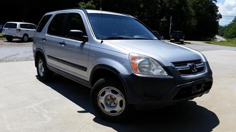 2002 Honda CR-V for sale at McCall's Auto Sales in Franklin NC