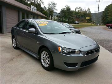 2014 Mitsubishi Lancer for sale at McCall's Auto Sales in Franklin NC