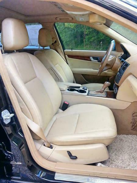 2008 Mercedes-Benz C-Class for sale at McCall's Auto Sales in Franklin NC