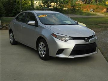 2014 Toyota Corolla for sale at McCall's Auto Sales in Franklin NC