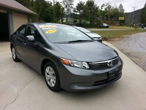 2012 Honda Civic for sale at McCall's Auto Sales in Franklin NC