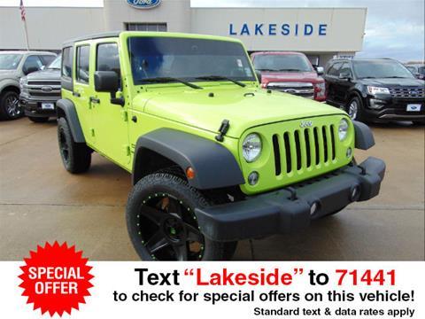 2017 Jeep Wrangler Unlimited for sale in Ferriday LA