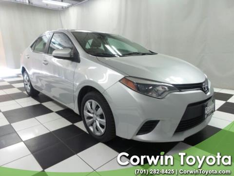 2014 Toyota Corolla for sale in Fargo, ND